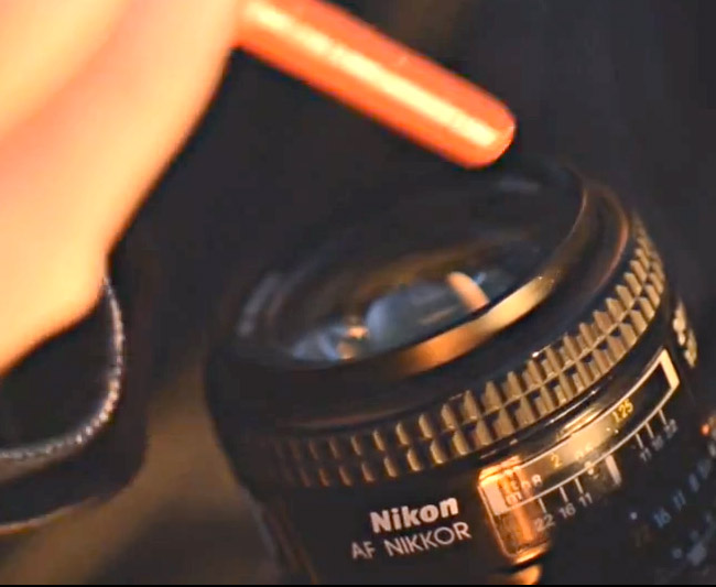 AF Nikkor lens