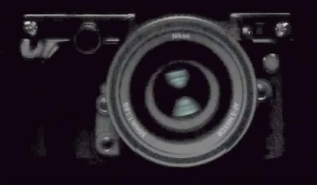 Nikon DF camera front picture