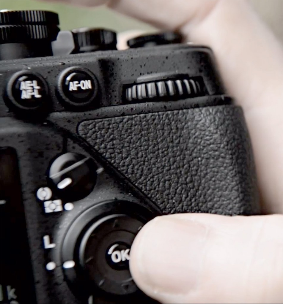 Nikon DF camera back controls